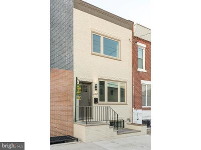 Point Breeze Townhouse For Sale: 2117 Dickinson Street