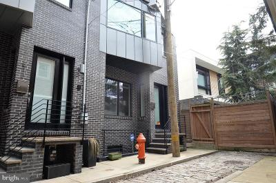 Northern Liberties Townhouse For Sale: 811 N Orkney Street