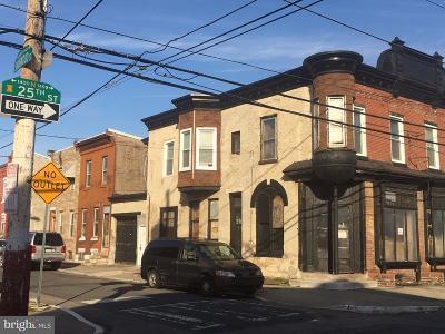 Philadelphia Single Family Home For Sale: 2501 Sharswood Street