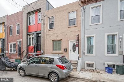 Point Breeze Townhouse For Sale: 1428 S Bouvier Street