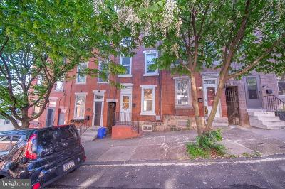 East Falls Townhouse For Sale: 3725 Stanton Street
