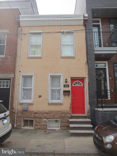 Point Breeze Townhouse For Sale: 1812 Gerritt Street