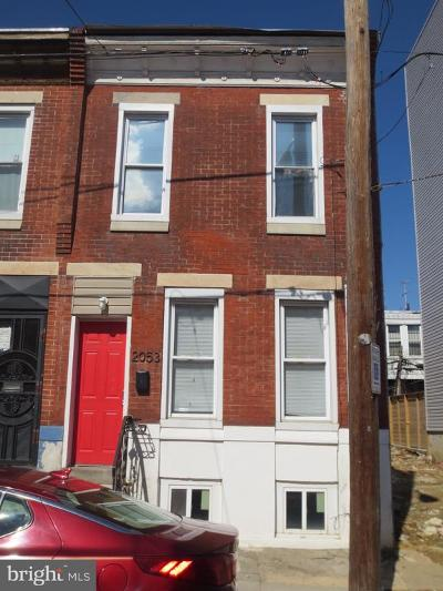 Point Breeze Townhouse For Sale: 2053 Sigel Street