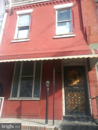 Brewerytown Townhouse For Sale: 1623 N 29th Street