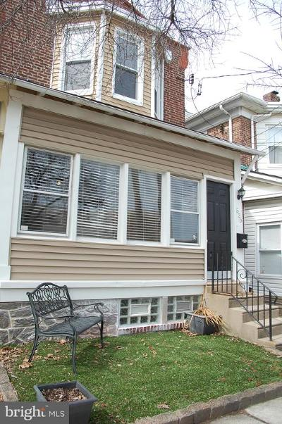 Roxborough Single Family Home For Sale: 536 Righter Street
