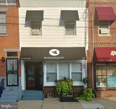 Point Breeze Multi Family Home For Sale: 1547 S 19th Street