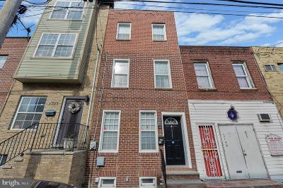 Point Breeze Townhouse For Sale: 1721 Federal Street