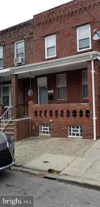 Point Breeze Townhouse For Sale: 2111 Wharton Street