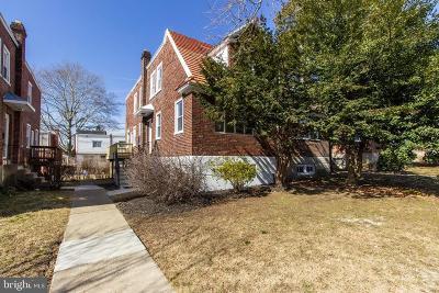 Philadelphia Single Family Home Active Under Contract: 1513 E Washington Lane