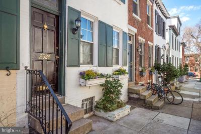 Fitler Square Townhouse For Sale: 2524 Waverly Street