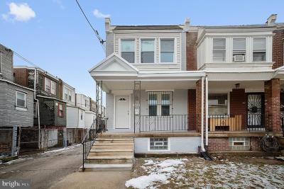 Philadelphia County Townhouse For Sale: 6612 Gerry Street