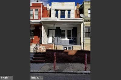 Philadelphia County Single Family Home For Sale: 1147 S Peach Street