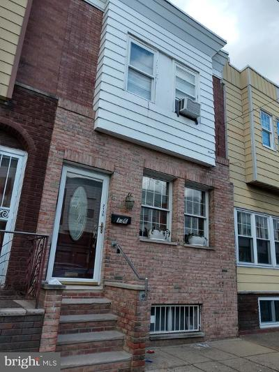 Philadelphia County Townhouse For Sale: 2136 S 20th Street