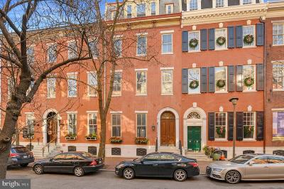 Rittenhouse Square Townhouse For Sale: 2004 Delancey Street