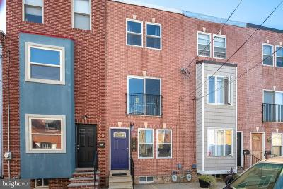 Philadelphia County Townhouse For Sale: 2308 E Cabot Street