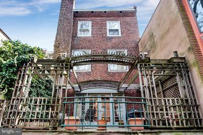 Philadelphia County Townhouse For Sale: 124 S Van Pelt Street
