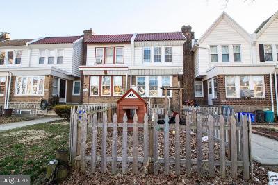 Philadelphia Townhouse For Sale: 3438 Princeton Avenue