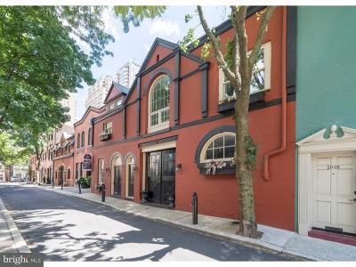 Philadelphia Townhouse For Sale: 2022-24 Chancellor Street
