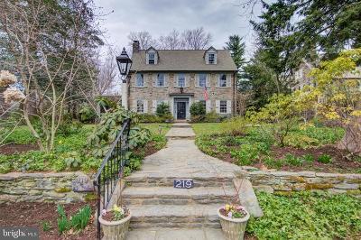 Philadelphia Single Family Home For Sale: 219 W Gravers Lane