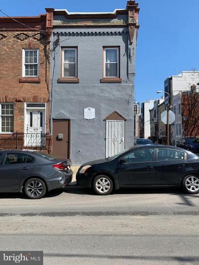 Brewerytown Townhouse For Sale: 2929 W Master Street