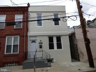 Point Breeze Townhouse For Sale: 2109 Earp Street