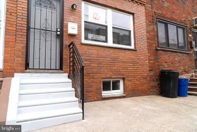 Point Breeze Townhouse For Sale: 1816 S Taylor Street