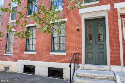Philadelphia Multi Family Home For Sale: 1616 Mount Vernon Street