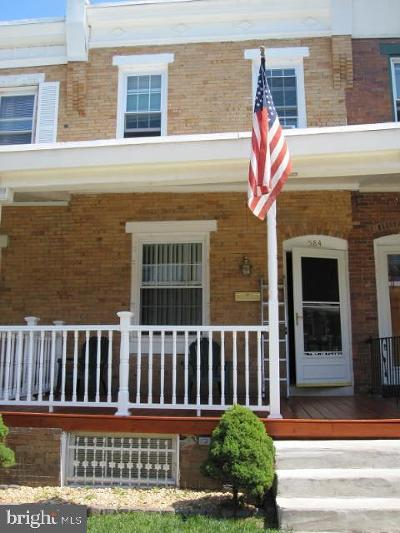 Roxborough Townhouse For Sale: 584 Martin Street