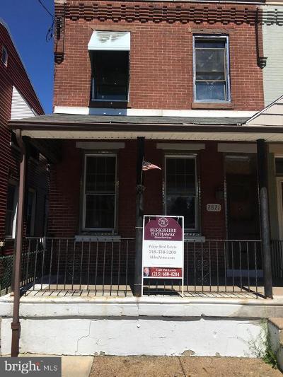 Bridesburg Single Family Home For Sale: 2821 Pratt Street