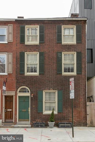 Rittenhouse Square Townhouse For Sale: 233 S 24th Street