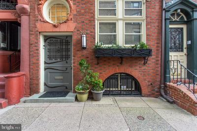 Rittenhouse Square Townhouse For Sale: 2028 Locust Street