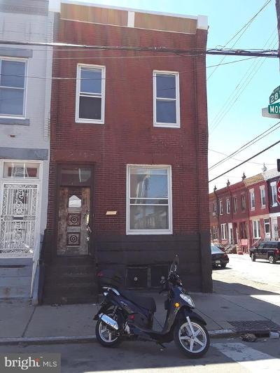 Brewerytown Townhouse For Sale: 2742 W Montgomery Avenue