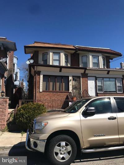 Philadelphia Single Family Home For Sale: 6017 Ellsworth Street