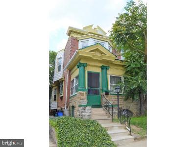 Philadelphia Single Family Home For Sale: 5124 N 15th Street