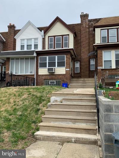 Philadelphia PA Townhouse For Sale: $185,000