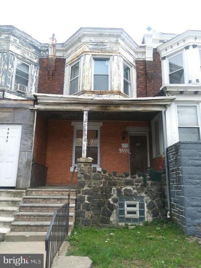Philadelphia PA Multi Family Home For Sale: $100,000