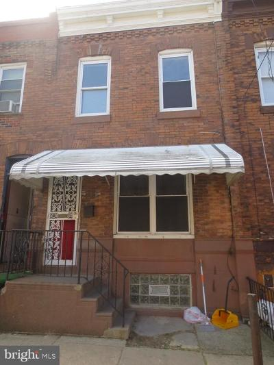 Point Breeze Townhouse For Sale: 2210 Sigel Street