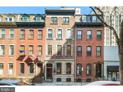 Rittenhouse Square Townhouse For Sale: 1905 Spruce Street