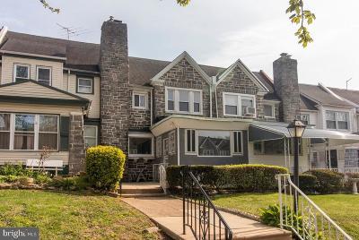 Philadelphia County Townhouse For Sale: 5620 Wyndale Avenue
