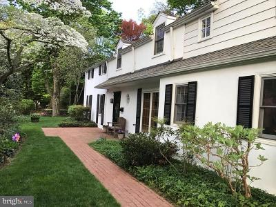 Chestnut Hill Single Family Home Active Under Contract: 7701 Cherokee Street