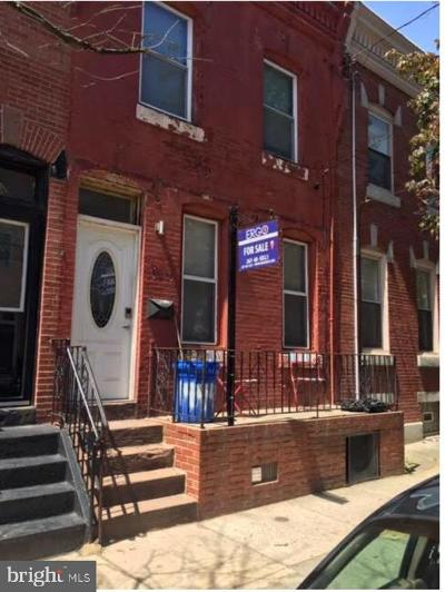 Brewerytown Townhouse For Sale: 1444 N 28th Street