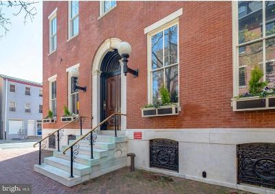 Rittenhouse Square Townhouse For Sale: 2000 Delancey Place #3