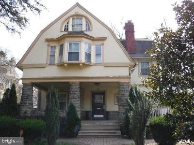 Philadelphia Single Family Home Under Contract: 124 Pelham Road