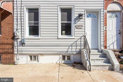Fishtown Townhouse For Sale: 2029 Tulip Street