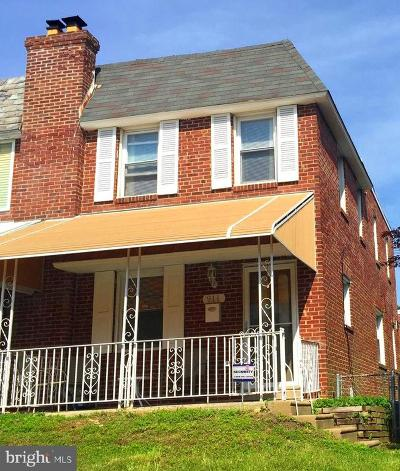 Mt Airy (East) Single Family Home For Sale: 911 E Allens Lane