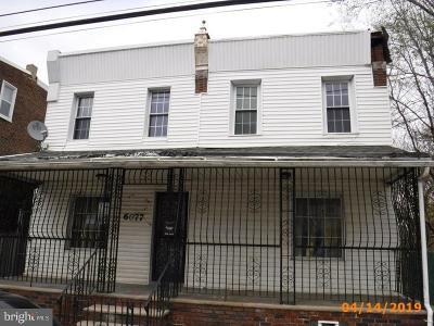 Philadelphia Single Family Home For Sale: 6077 E Wister Street