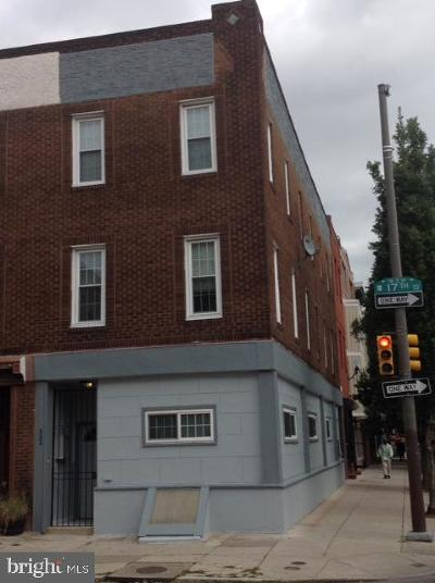 Philadelphia Multi Family Home For Sale: 533 S 17th Street