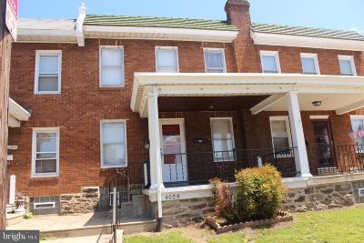Roxborough Townhouse For Sale: 4029 Mitchell Street