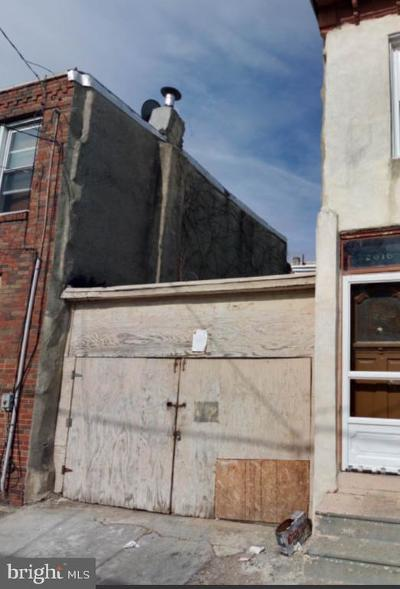 Philadelphia Single Family Home For Sale: 2014 N Orianna Street