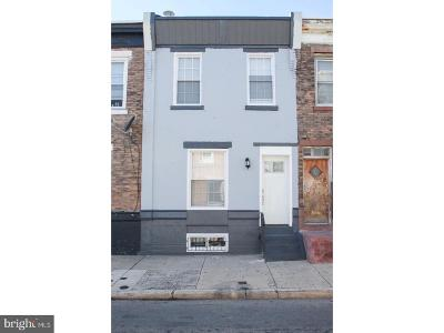 Point Breeze Townhouse For Sale: 1550 S Ringgold Street